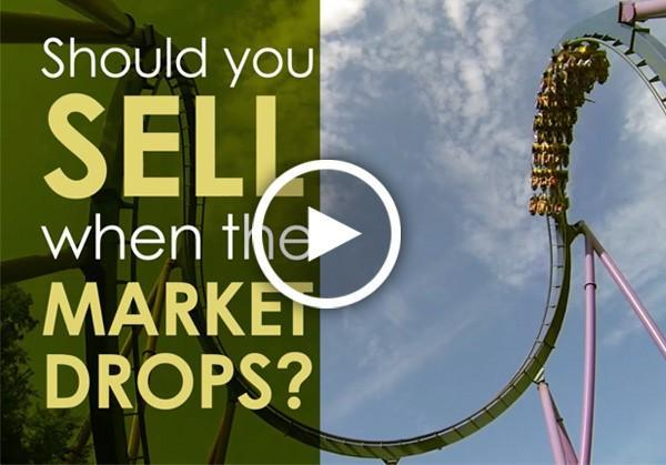 Should You Sell When the Market Drops